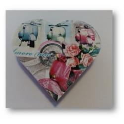 Caja artesanal en Corazón Roma.