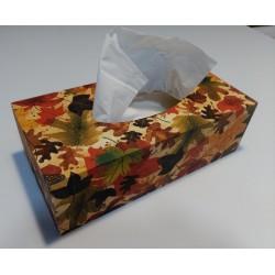 Caja pañuelos otoño