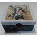 Caja decorativa artesanal Corset.