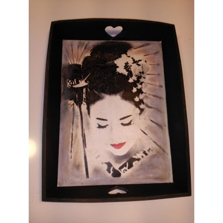 Bandeja madera Geisha