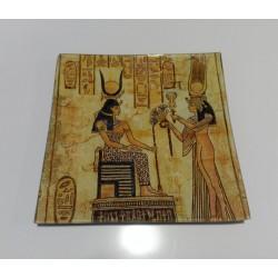 Bandeja cristal Egipcia.