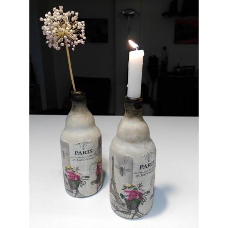 botella decorativa PARIS TORRE EIFFEL