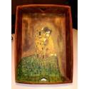 bandeja madera Klimt