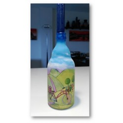 botella decorativa verano