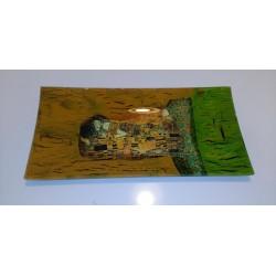 bandeja cristal Klimt Gustav Klimt