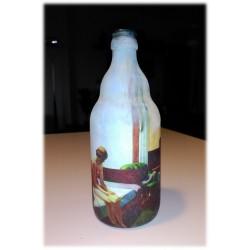 """Botella decorativa HOPPER """"La habitación de hotel"""""""